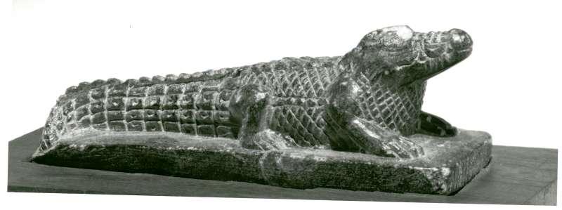 צלמית בדמות תנין