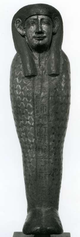 פסלון בדמות האלוהות פּתַח-סוֹכָּר-אוזיריס