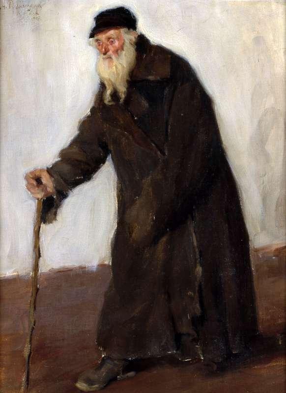 A Beggar (Un mendiant)