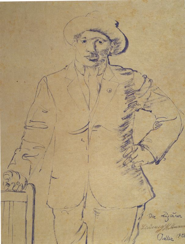 Der Zigeuner (The Gipsy), Portrait of Ludwig Hoffmann
