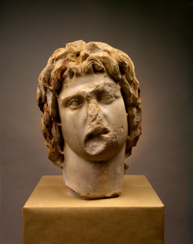 Head of Alexander the Great (336–323 BCE)