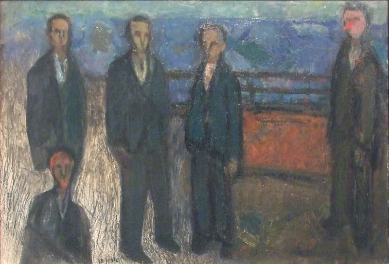 Men on the Promenade