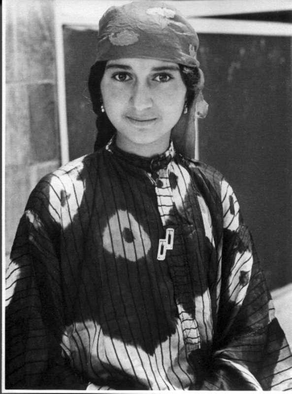 Bukharan girl, Jerusalem
