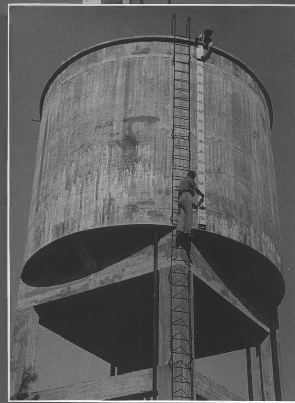 Water tower on a kibbutz