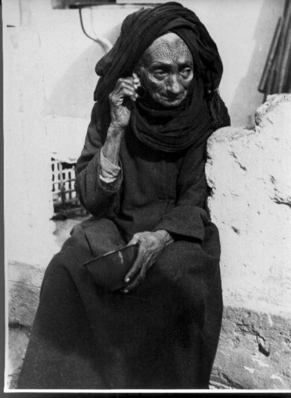 Elderly Yemenite woman