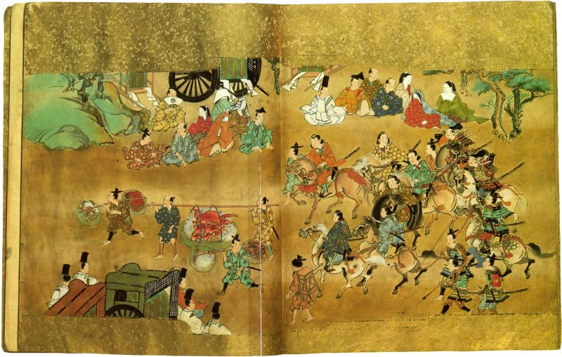 "Album illustrating the ""Tale of Shutendoji"""