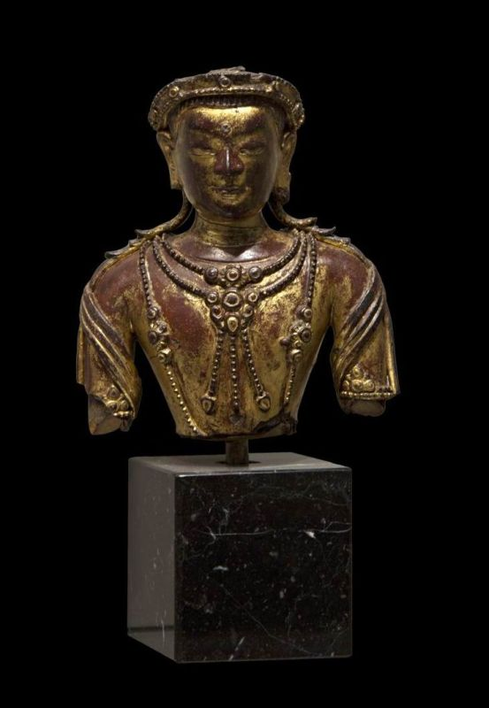 Bust of <i>bodhisattva</i>