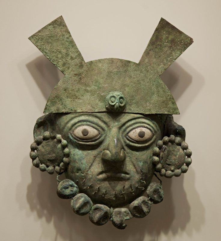 Nobleman's funerary mask