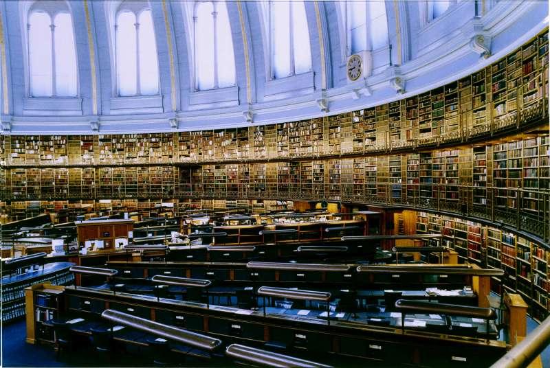 הספריה הבריטית I לונדון