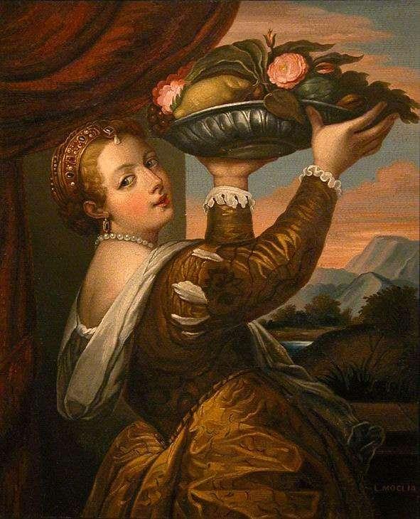 Lavinia as Flora