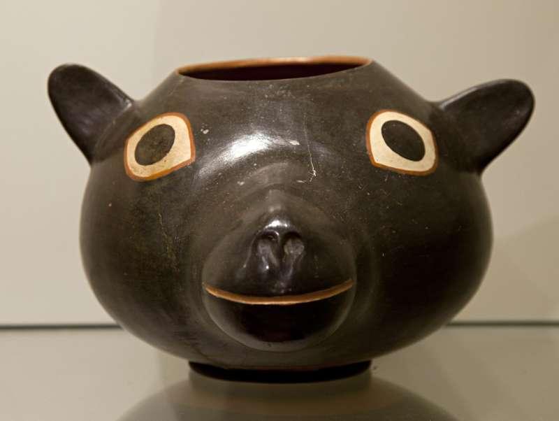 Llama head vessel