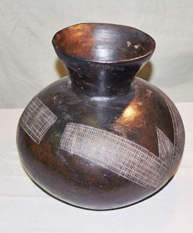 Ceremonial beer pot