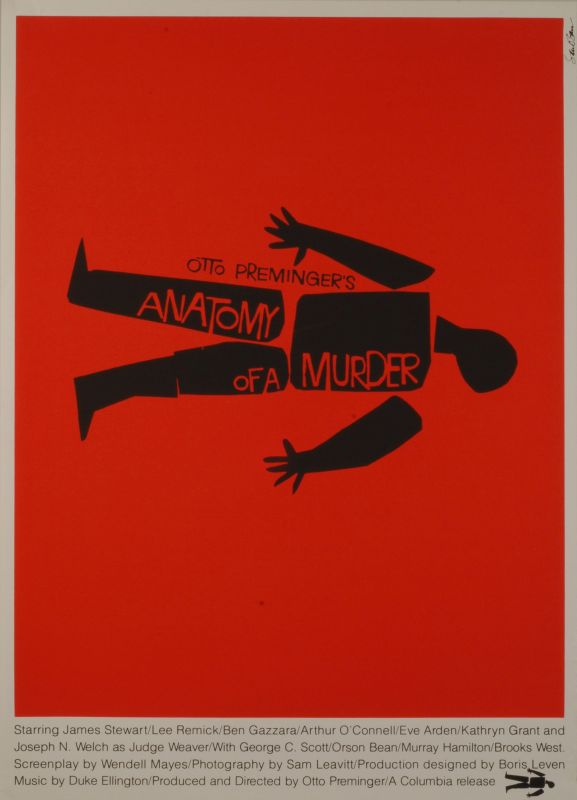 Poster For Otto Premingers Film Anatomy Of A Murder