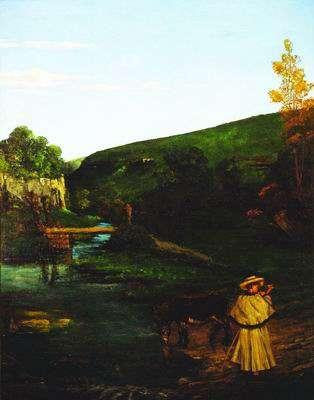 Jura Landscape with Shepherd and Donkey