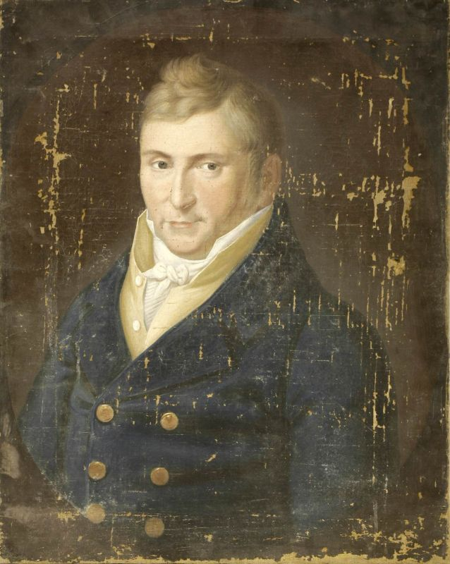 Portrait of a Young Man in a Blue Coat