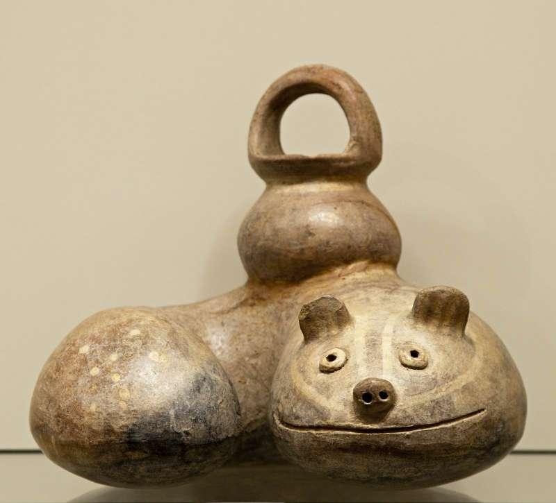Feline-snake bottle