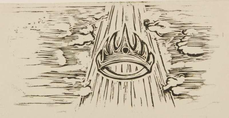 Vignette illustration to The Book of Ruth, Jewish Publication Society, Philadelphia, 1955