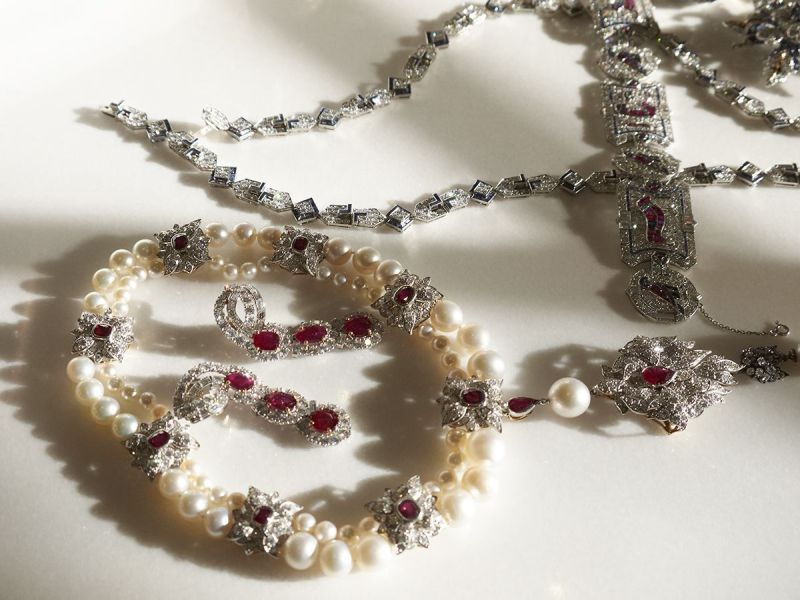 Jewels in Afternoon Light #2, Elizabeth Taylor Series