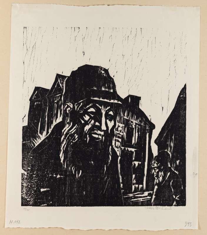 יהודי על רקע כפר