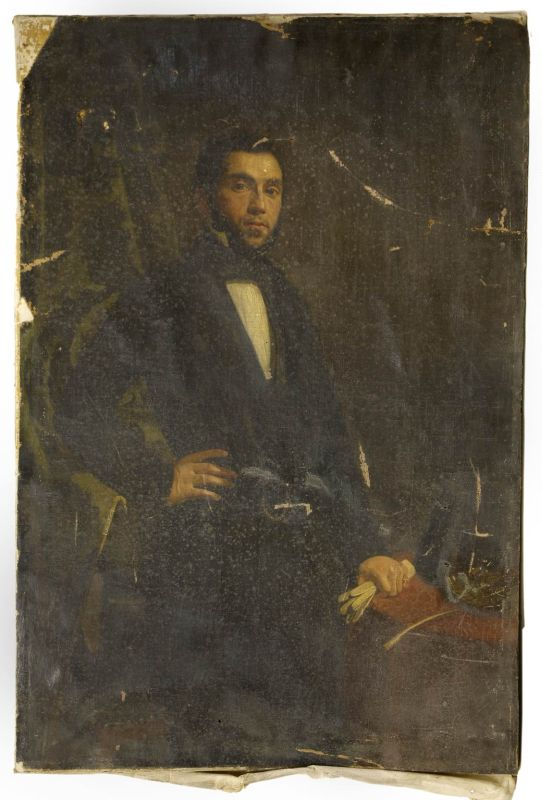 Portrait of Mr. van Vriesland
