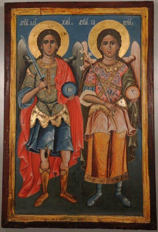 The Archangels Gabriel and Michael