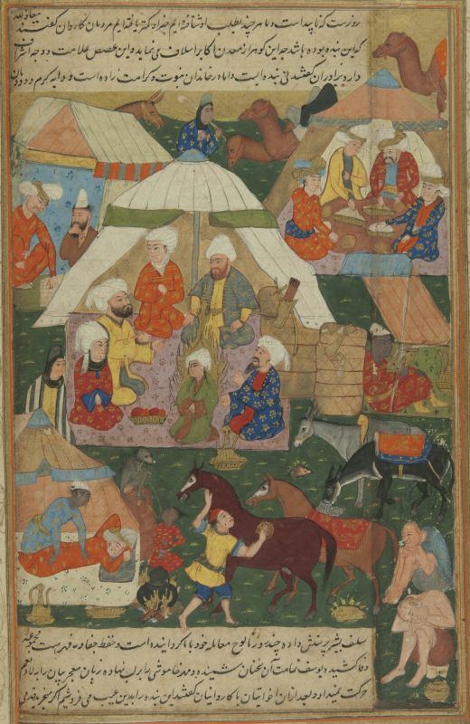 Joseph among the Ishmaelites