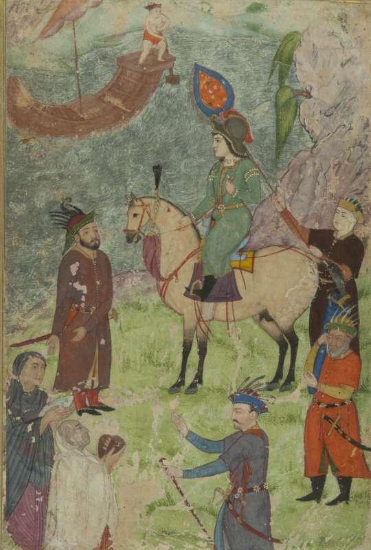אלכסנדר הגדול על שפת האינדוס