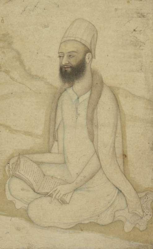 Dervish meditating