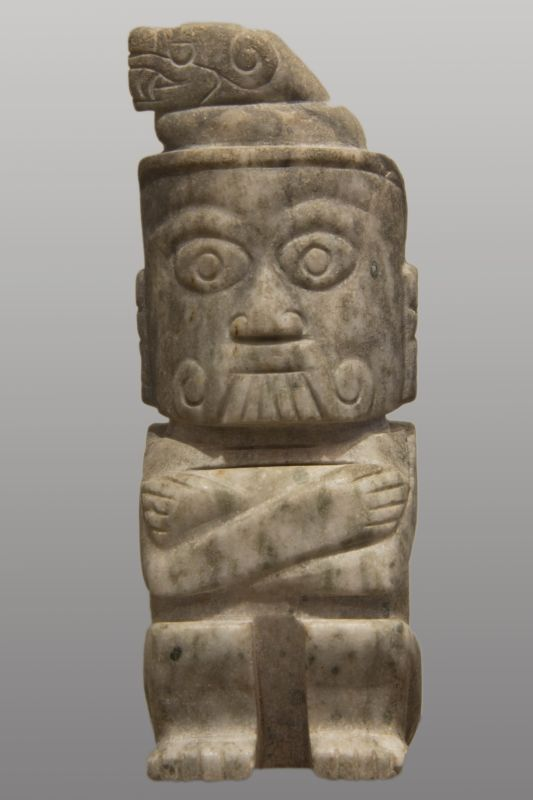 Tlaloc, god of rain and thunder