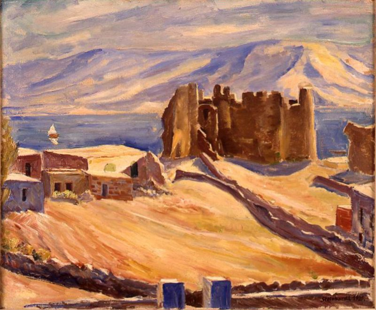 Crusader Ruins in Tiberias
