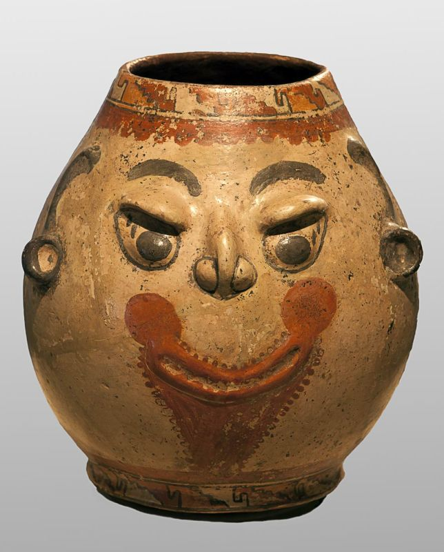 Smiling face jar