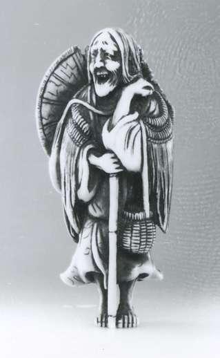 המשוררת אונו-נו-קומאצ'י בזקנתה