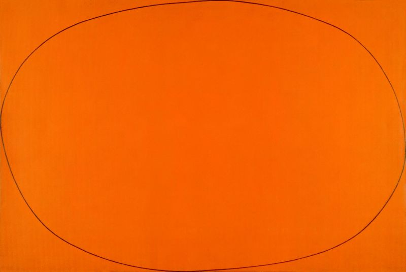 Distorted Ellipse within a Rectangle