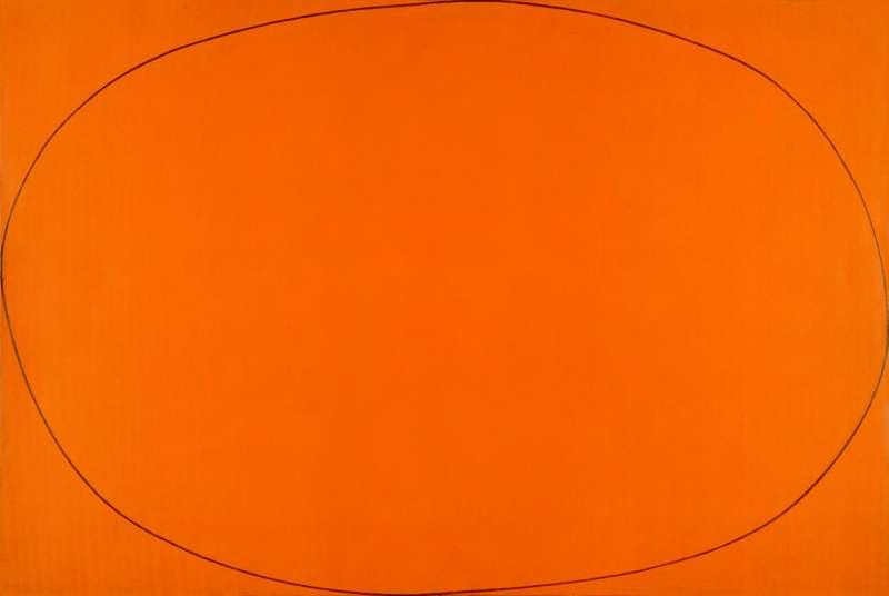 צורה סגלגלה מעוותת בתוך מלבן
