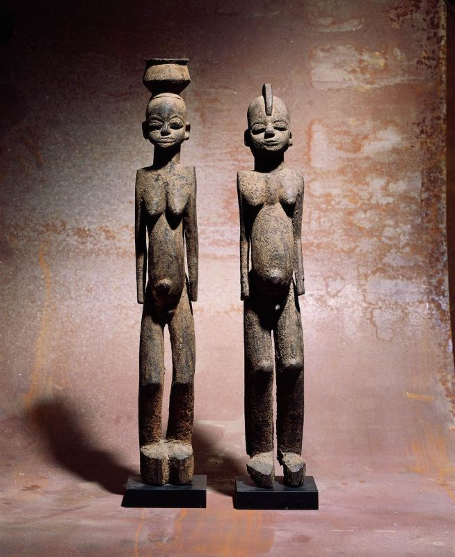 Pair of figures (<i>bateba</i>)