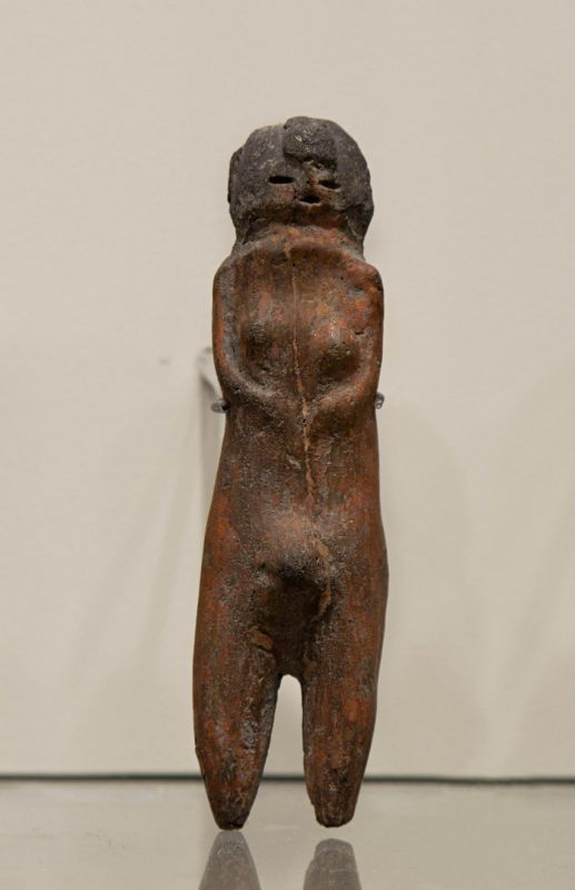Androgynous fertility figurine (with both male and female attributes)