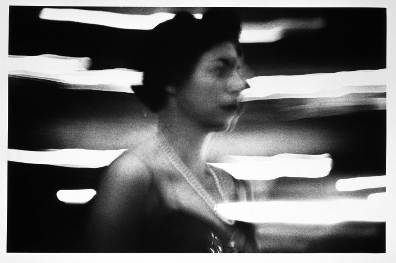Woman + Neon, New York, Two Stylized Figures