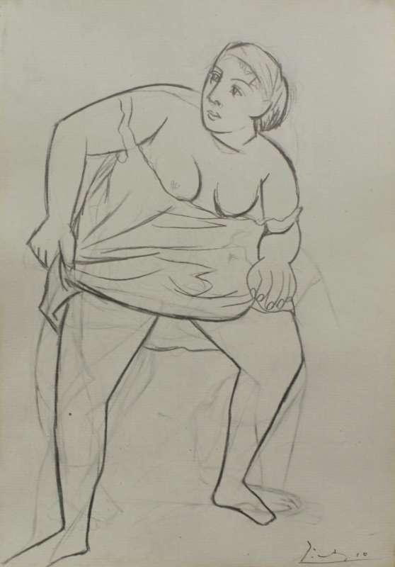 Woman in a Chemise (Femme en chemise)