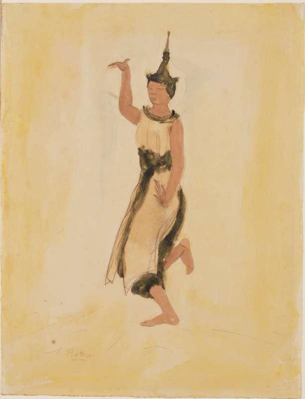 רקדנית קמבודית