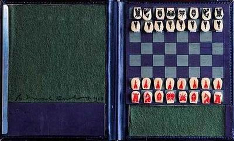 Pocket Chess Set (Echiquier de poche)