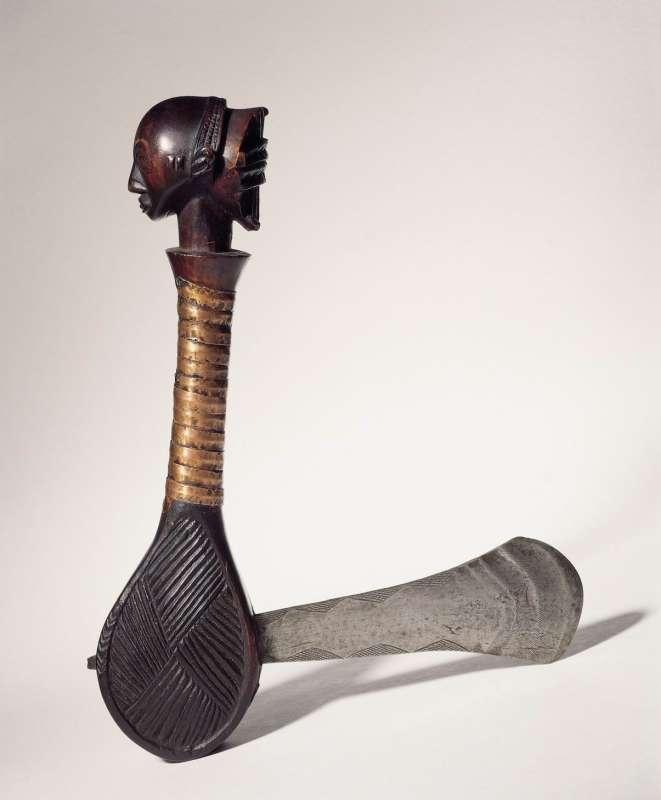Ceremonial axe (kibiki or kasolwa)