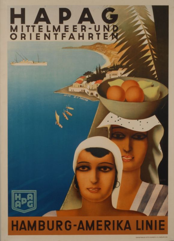 <i>Hapag Sailing the Mediterranean and the Orient</i>