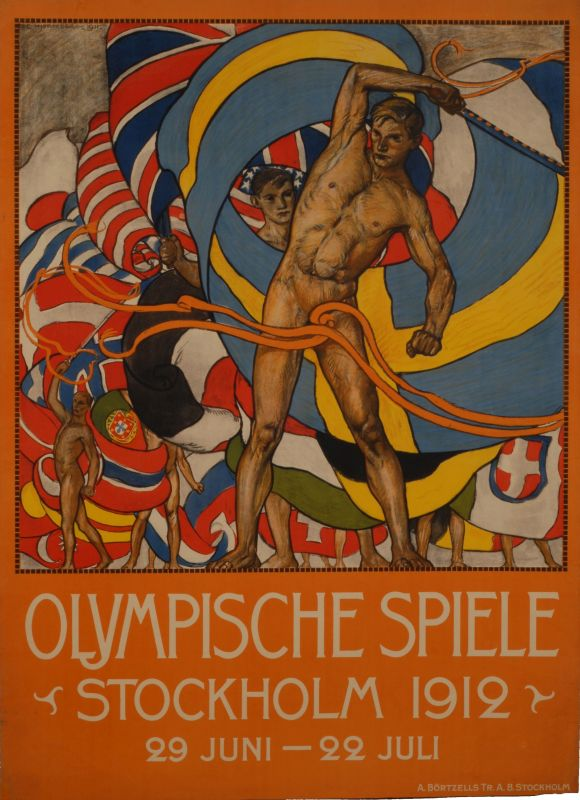 <i>Olympic Games, Stockholm</i>