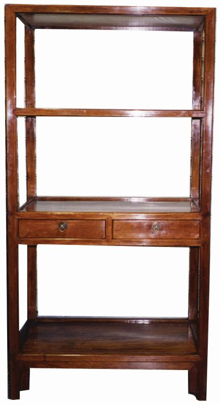 Bookcase with three shelves