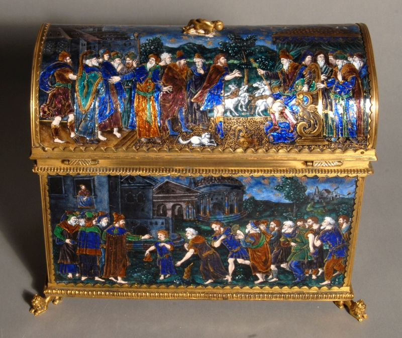Casket with scenes from the life of Joseph