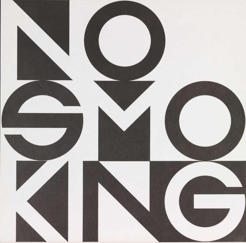 No Smoking Wallpaper Fluxus Edition