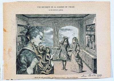 A Shop in the Palace Gallery (Une Boutique de la Gallerie du Palais)
