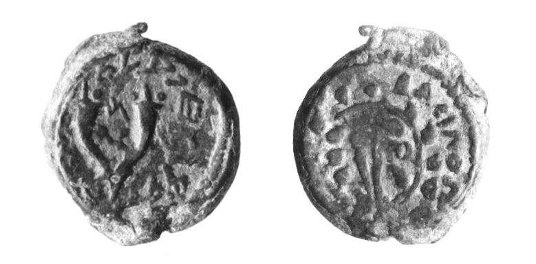 מטבע יהודי (חשמונאי) של מתתיהו אנטיגונוס