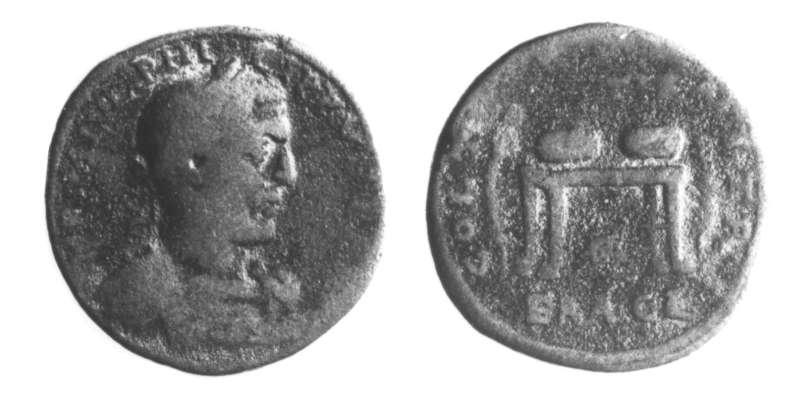 Roman Provincial coin of Philip I