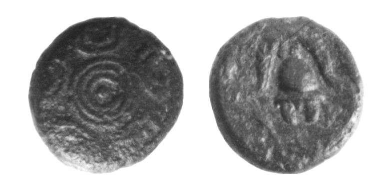 מטבע יווני של אנטיגונוס גונטס